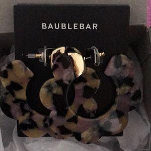 Nordstrom Baublebar Resin Hoop Earrings